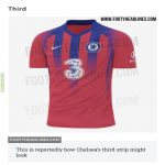Reportedly Chelsea 3rd kit. Palace fans must be gutted, looks sweet.