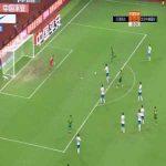 Tianjin Teda 0-(1) Beijing Guoan - A Lan goal