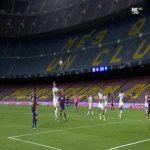 Leo Messi disallowed handball goal vs Napoli 33'