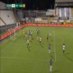 Spezia 3-[1] Chievo [3-3 on agg.] - Maxime Leverbe penalty 90'+3'