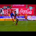 Tijuana 0 - [1] Atlético San Luis: Nico Ibáñez volley from an absurd angle