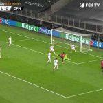 Alle Karl-Johan Johnsson's saves against Manchester United (Source: FCK TV)