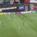 Consadole Sapporo 1-(5) Kawasaki Frontale - Yu Kobayashi goal