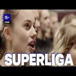Denmarks girl choir does a medly of the club songs from the danish superliga