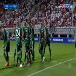 ŁKS Łódź 1-[1] Śląsk Wrocław - Róbert Pich 42' (Polish Cup)