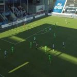 Odd [1]-1 Kristiansund - Kasper Lunding 20'