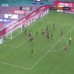 Qingdao Huanghai 0-(1) Beijing Guoan - Cedric Bakambu goal