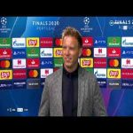 Nagelsmann congratulates PSG after Parisians defeat RB Lepizig in Champions League semi-final