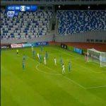 Dinamo Tbilisi 0-1 Tirana - Agustin Torassa 45'+4'