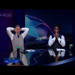Jamie Carragher and Micah Richards' HILARIOUS reactions to the Raheem Sterling miss