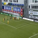 Bodø/Glimt 5-0 Start - Jens Petter Hauge 56'