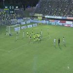 Tochigi 0-(1) Avispa Fukuoka - Emil Salomonsson free kick goal