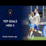 Best Goals of Matchday 5 from Russian Premier League