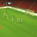 Kukësi 1-0 Slavia Sofia - Friday Eze PK 56'