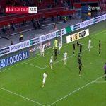 AFC Ajax 2-[1] Eintracht Frankfurt - André Silva 51'