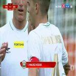 Radomiak Radom [4]-1 Widzew Łódź - Miłosz Kozak 90+4' (Polish I liga)