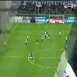 RC Strasbourg Alsace 0-[2] OGC Nice - Kasper Dolberg goal 59' (Ligue 1)