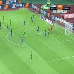 Shijiazhuang Ever Bright 0-(1) Beijing Guoan - A Lan goal