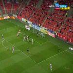 Slavia Praha 1-0 Příbram - Lukáš Provod 3'