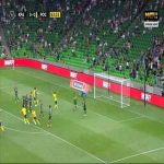 Krasnodar 0-1 FK Rostov - Mathias Normann free-kick 64'