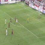 Vissel Kobe 0-(3) Kawasaki Frontale - Manabu Saito lob goal
