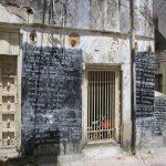 Hand-written EPL scoreboard in Zanzibar