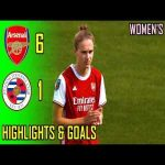 Arsenal Women v Reading WFC 6-1 | Highlights & Goals | 2020-21