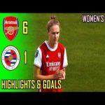 Arsenal Women v Reading WFC 6-1 | Highlights & Goals | 2020-21
