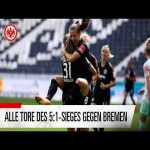 [Highlights] In the their first competitive game since the merger with 1.FFC Frankfurt, Eintracht women defeat newly promoted Werder Bremen women 5-1