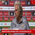"Jorge Jesus: ""In the five years that I was away Benfica improved a lot. The facilities and stadium are top class. Now all that it needs are top class players."""