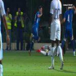 Azerbaijan U21 0-1 France U21 - Odsonne Edouard penalty 25'