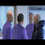 Tottenham staff laughing at Jose Mourinho being bald