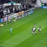 Corinthias 0-[1] Palmeiras - Fagner straight red card + L. Adriano Pk 43'