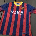 Need help estimating a value for this 2013/2014 Fc Barcelona shirt.