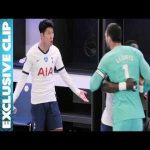 Behind the scenes footage of Son and Lloris argument