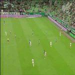 Ferencváros [3]-0 Paks - Tokmac Nguen 28' (First half hat-trick)