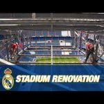 Real Madrid's NEW Santiago Bernabéu stadium works (September 2020)