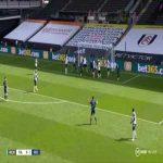Fulham 0-[2] Arsenal - Gabriel 49'