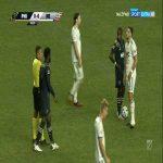 Matt Polster (New England Revolution) second yellow card vs. Philadelphia Union (56')
