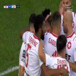 Pogoń Szczecin 0-1 Wisła Kraków - Jean Carlos Silva 3' (Polish Ekstraklasa)