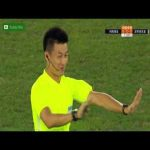 Henan Jianye 0 - [2] Shenzhen - J. Mary (controversial VAR) goal 10' - seemingly obvious offside goal allowed to stand after VAR review