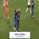 Derby 1-[2] Preston - Daniel Johnson penalty 90'+2'