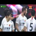 Wuhan Zall 0 - [1] Shanghai SIPG - Marko Arnautovic Goal 59' (assist by Oscar)