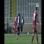 Fantastic save by Milan Borjan (FK Crvena zvezda)