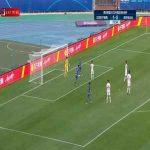 Jiangsu Suning (2)-0 Shenzhen FC - Li Ang free kick goal