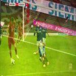 Lewandowski rabona assist to Thomas Müller
