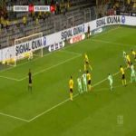 Dortmund [2]-0 B. M'Gladbach - Haaland PK + foul 54'