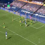 Everton [5] - 2 West Brom - Calvert-Lewin hat-trick 66'