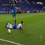 FC Porto [3]-1 Braga - Alex Telles penalty 89'