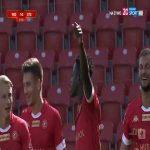 Widzew Łódź 1-0 Stomil Olsztyn - Merveille Fundambu 32' great goal (Polish I liga)